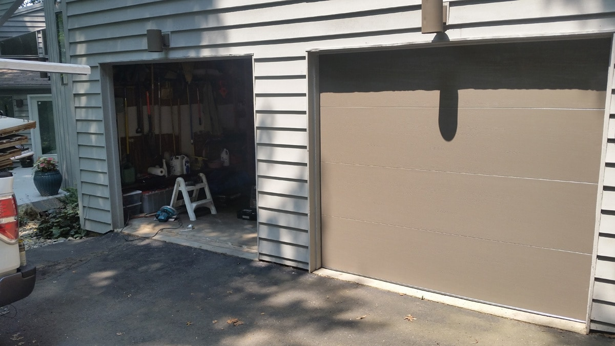 garage door repair 3 after g s garage doors. Black Bedroom Furniture Sets. Home Design Ideas