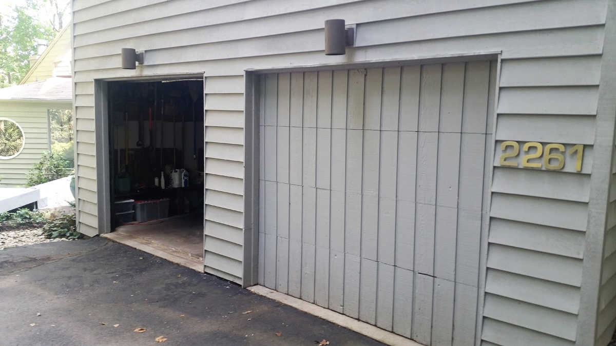 garage door repair 3 before g s garage doors. Black Bedroom Furniture Sets. Home Design Ideas