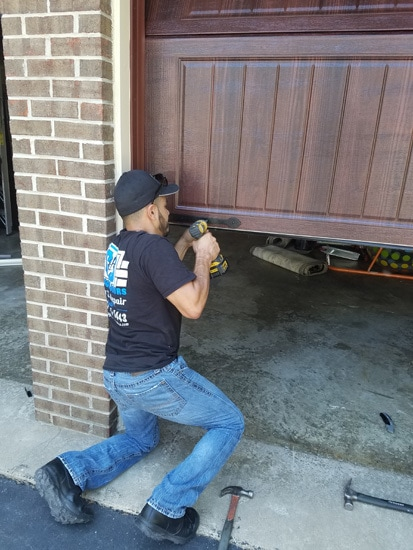 garage door replacement power tools
