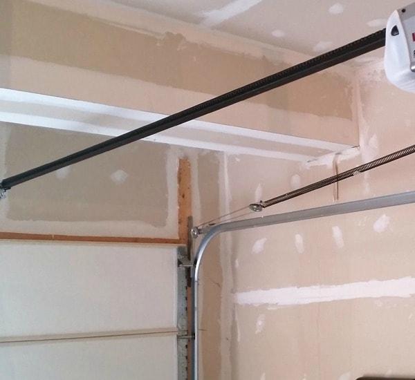 high tension garage door spring repair