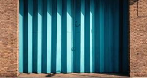 strange garage door color ideas