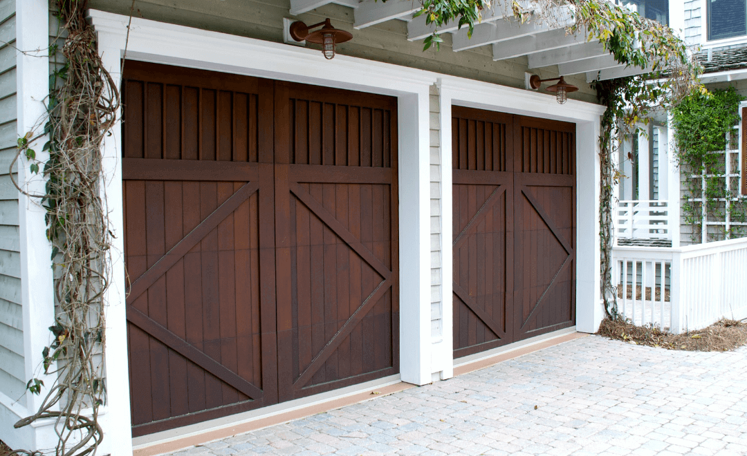 What Color Garage Door Is Best with a Grey House?